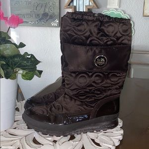 Coach Winter Snow Boots Women's 6.5